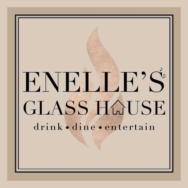Enelles Glass house - outdoor signage